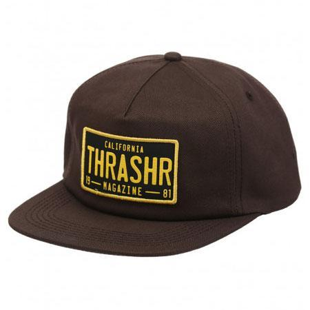 Thrasher DMV SNAPBACK- BROWN
