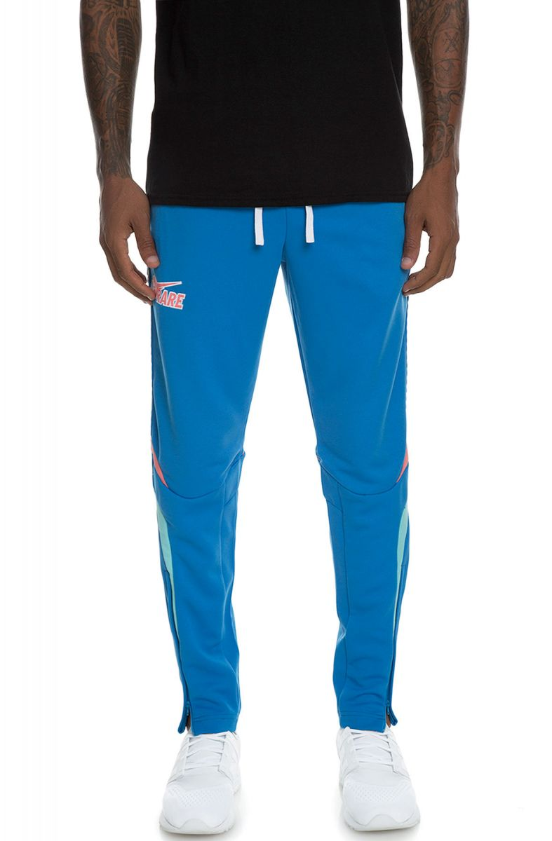 Pink Dolphin nohavice  WAVE STRIPE TRACK BOTTOM BLUE
