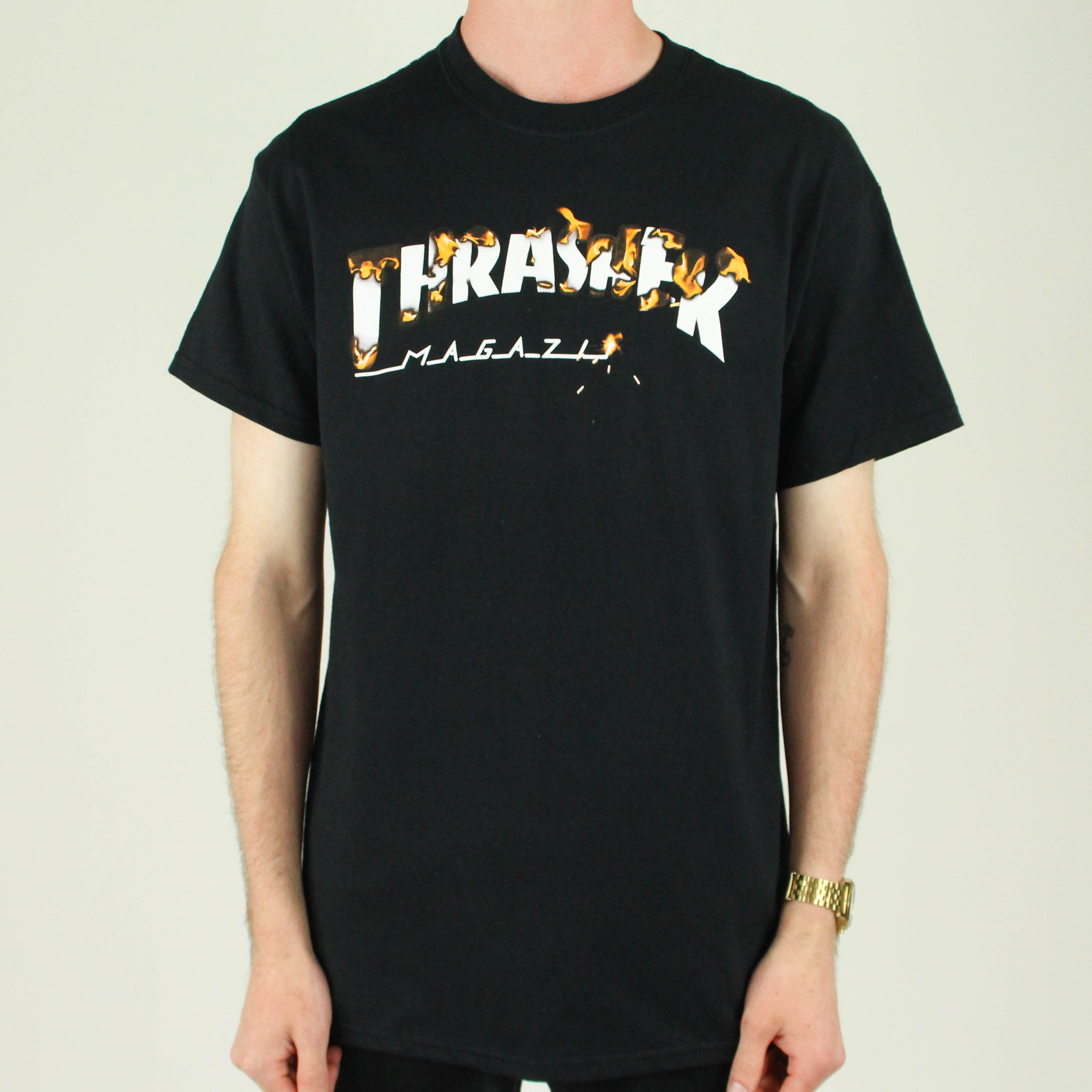 Thrasher tričko INTRO BURNER