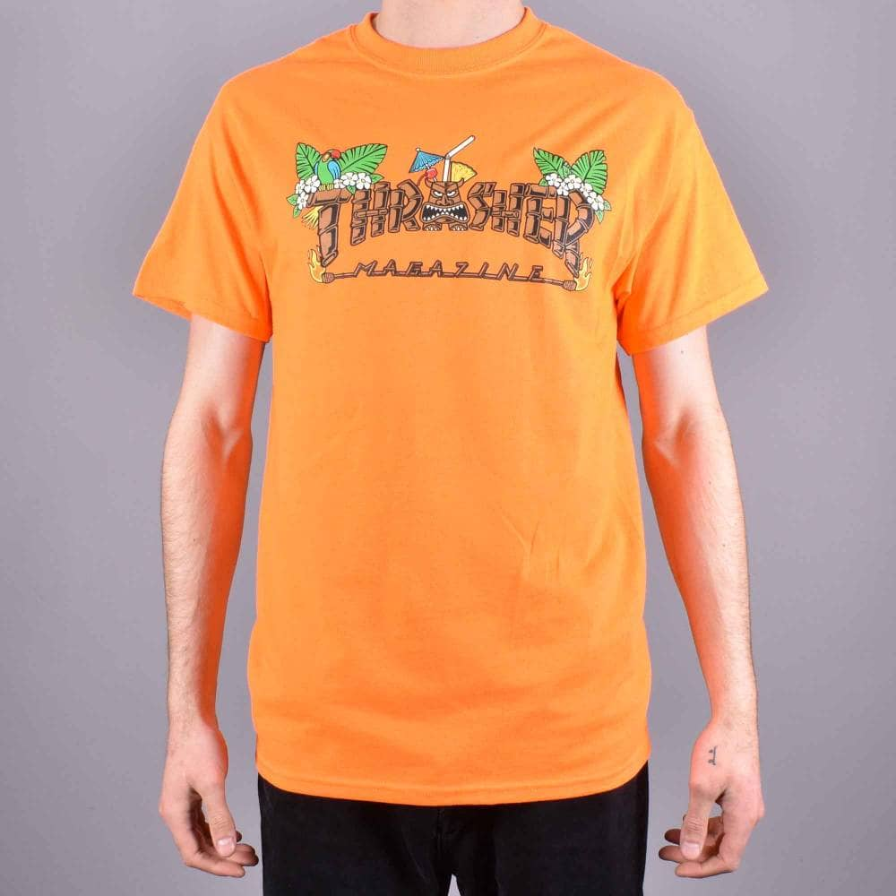 Thrasher tričko TIKI SAFETY ORANGE