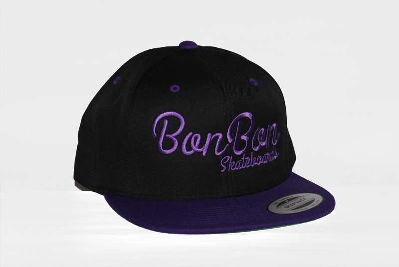 BonBon snapback black-purple""
