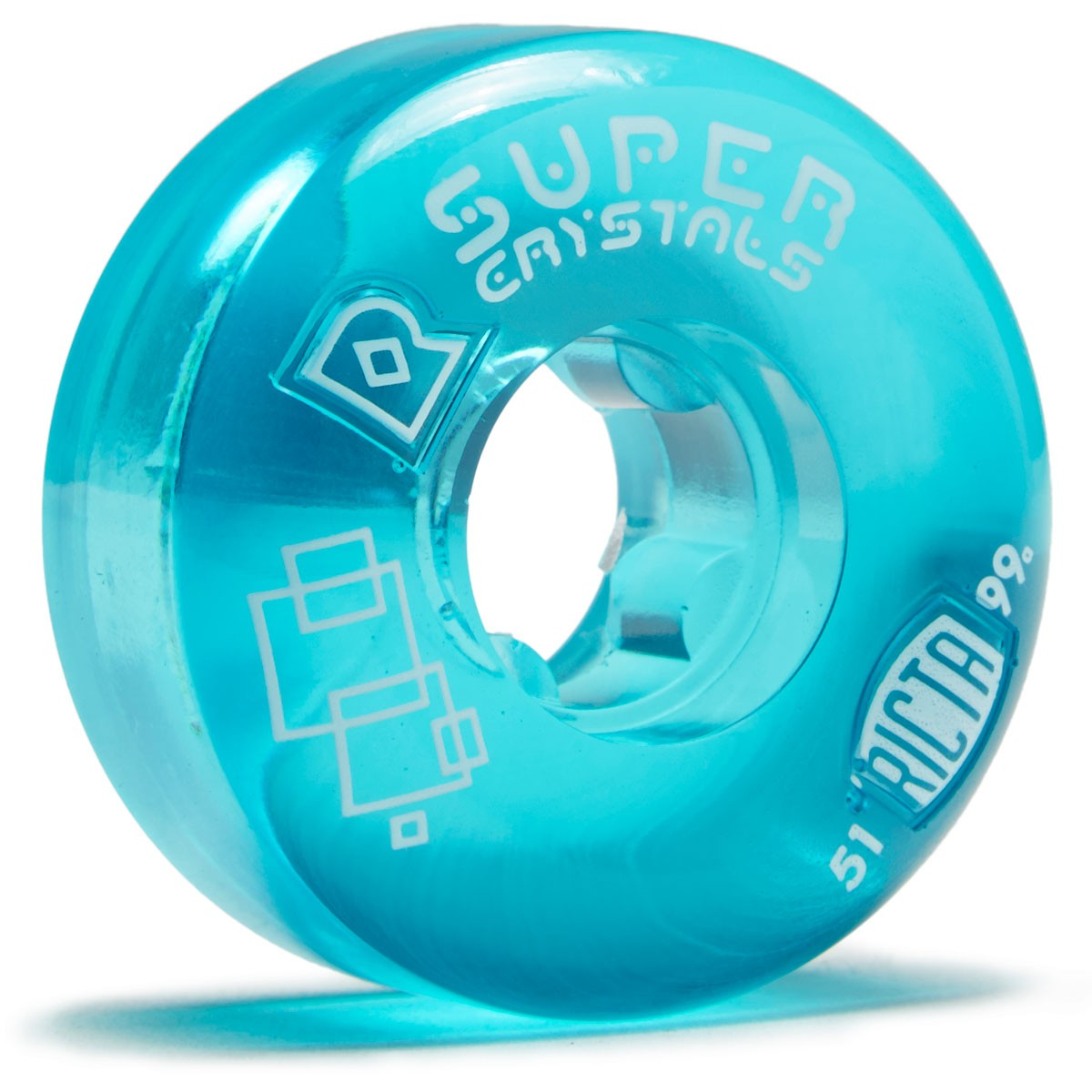 Ricta kolieska 51mm Super Crystals Blue 99a