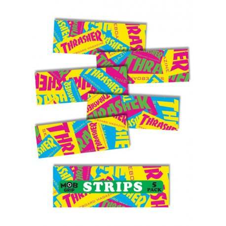 Thrasher Retro Graphic Strips Grip Tape Mob
