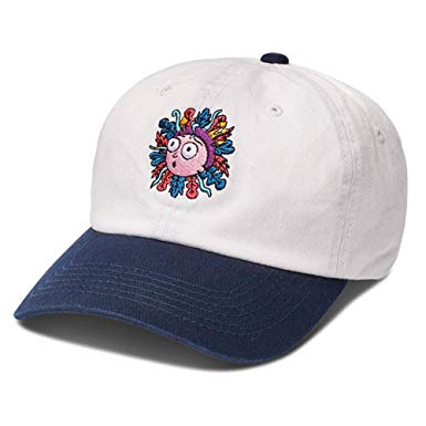 Primitive šiltovka MORTY DAD HAT-WHITE/NAVY