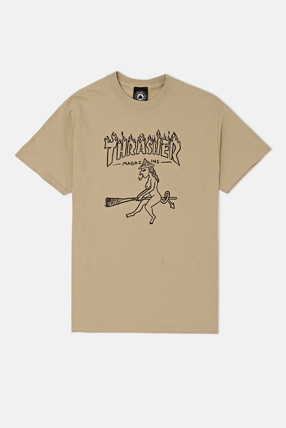 Thrasher tričko WITCH S/S- TAN