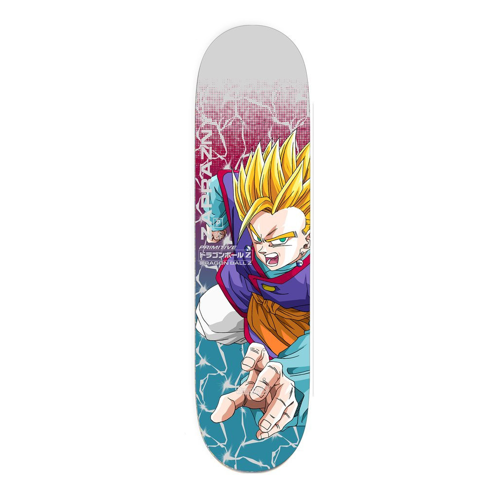 Primitive doska Dragon Ball Z x Primitive Skate Marek Zaprazny Gohan Power 8.38