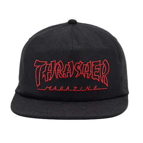 Thrasher šiltovka CHINA BANKS SNAPBACK-BLACK