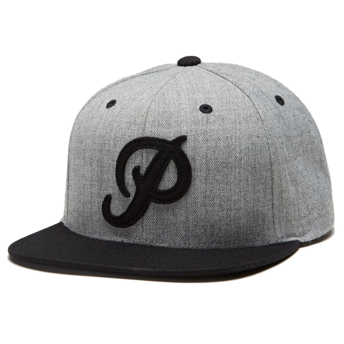 Primitive šiltovka FELT CLASSIC P SNAPBACK - heather grey