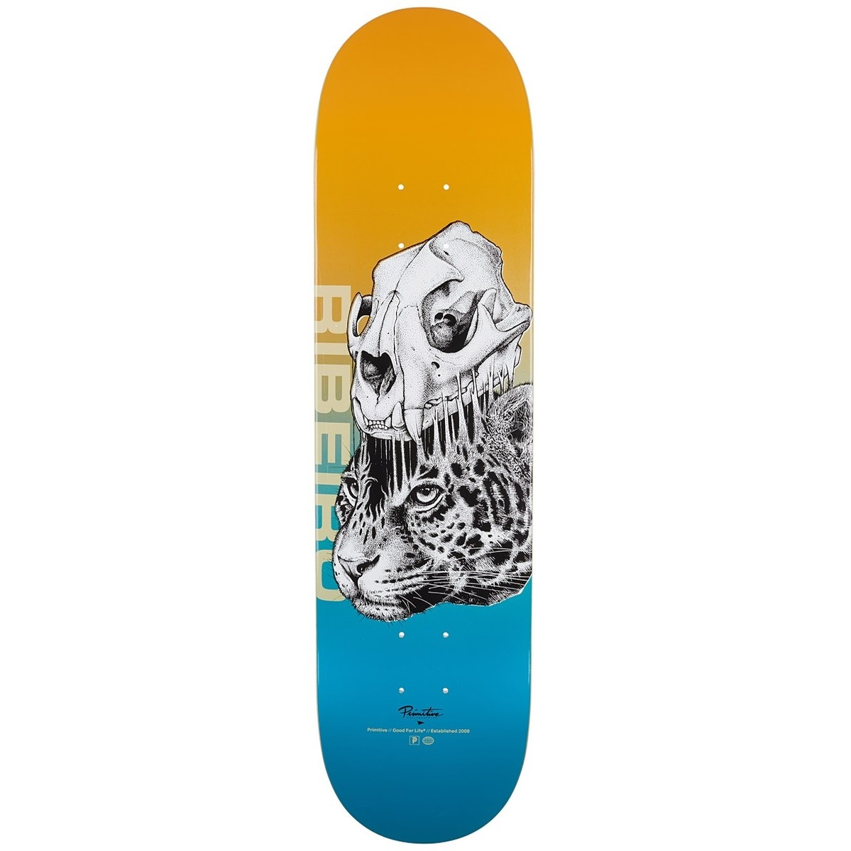 Primitive doska 8.0 RIBEIRO JUNGLE DECK-ORANGE