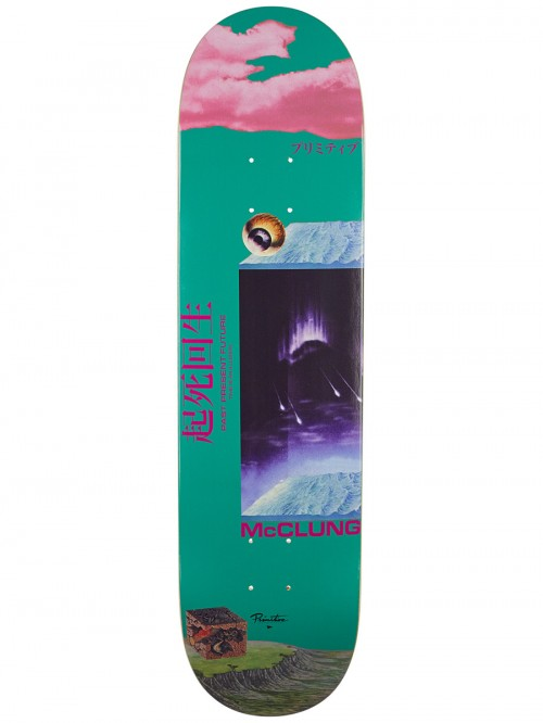 Primitive doska 8.125 MCCLUNG ILLUSION DECK- TEAL