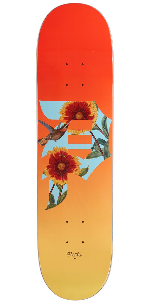 Primitive doska 8.125 DIRTY P SUNFLOWER DECK- ORANGE