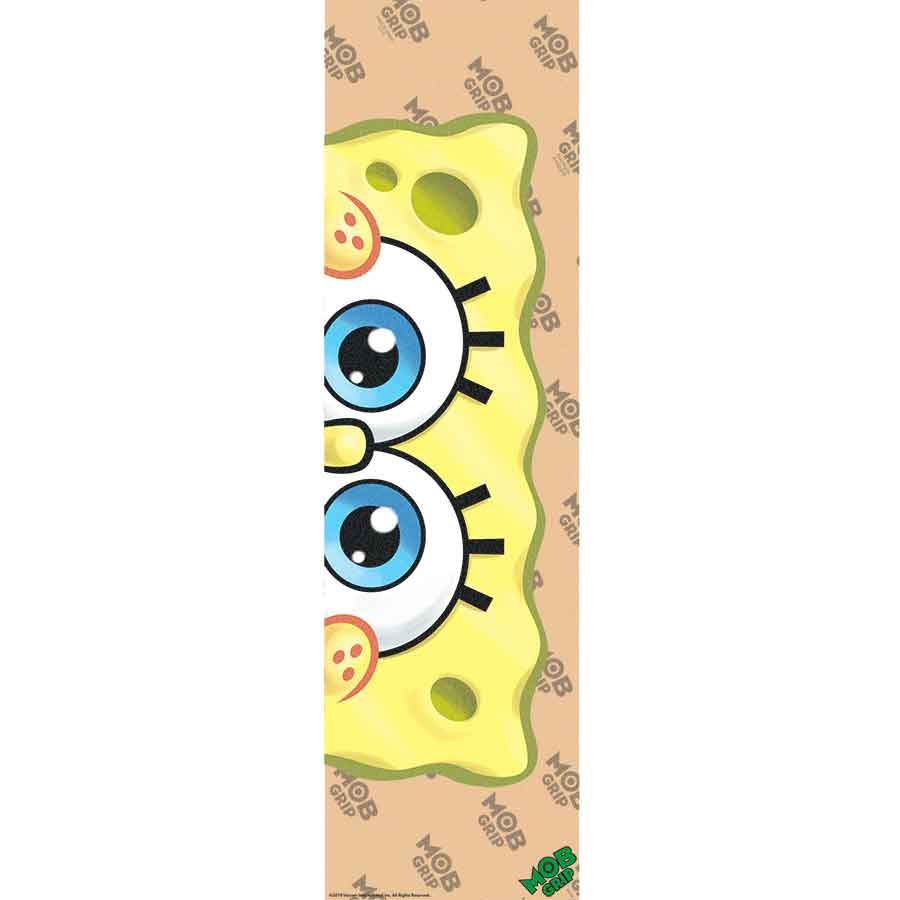 SANTA CRUZ x MOB grip SpongeBob clear - eyes