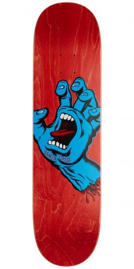 Santa Cruz doska Screaming Hand - RED 8.0
