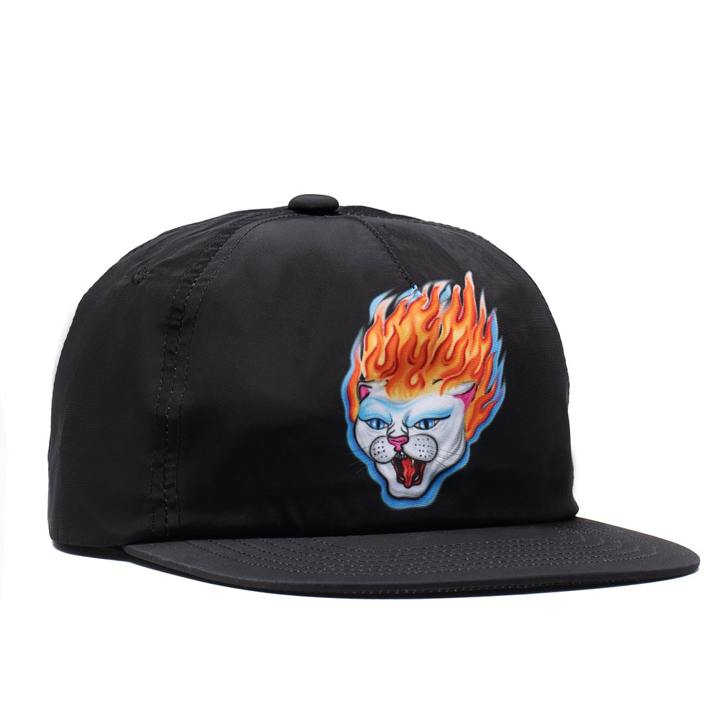 RIPNDIP šiltovka Hell Ride 6 Panel - black