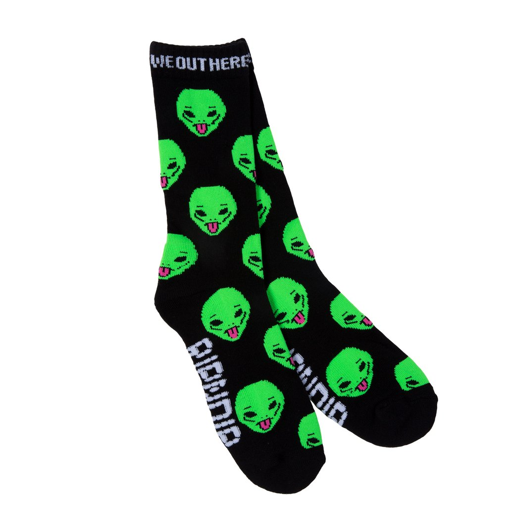RIPNDIP ponožky We Out Here Socks  - black