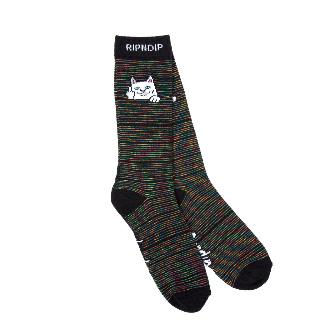 RIPNDIP ponožky Peeking Nerm Socks - Space Dye