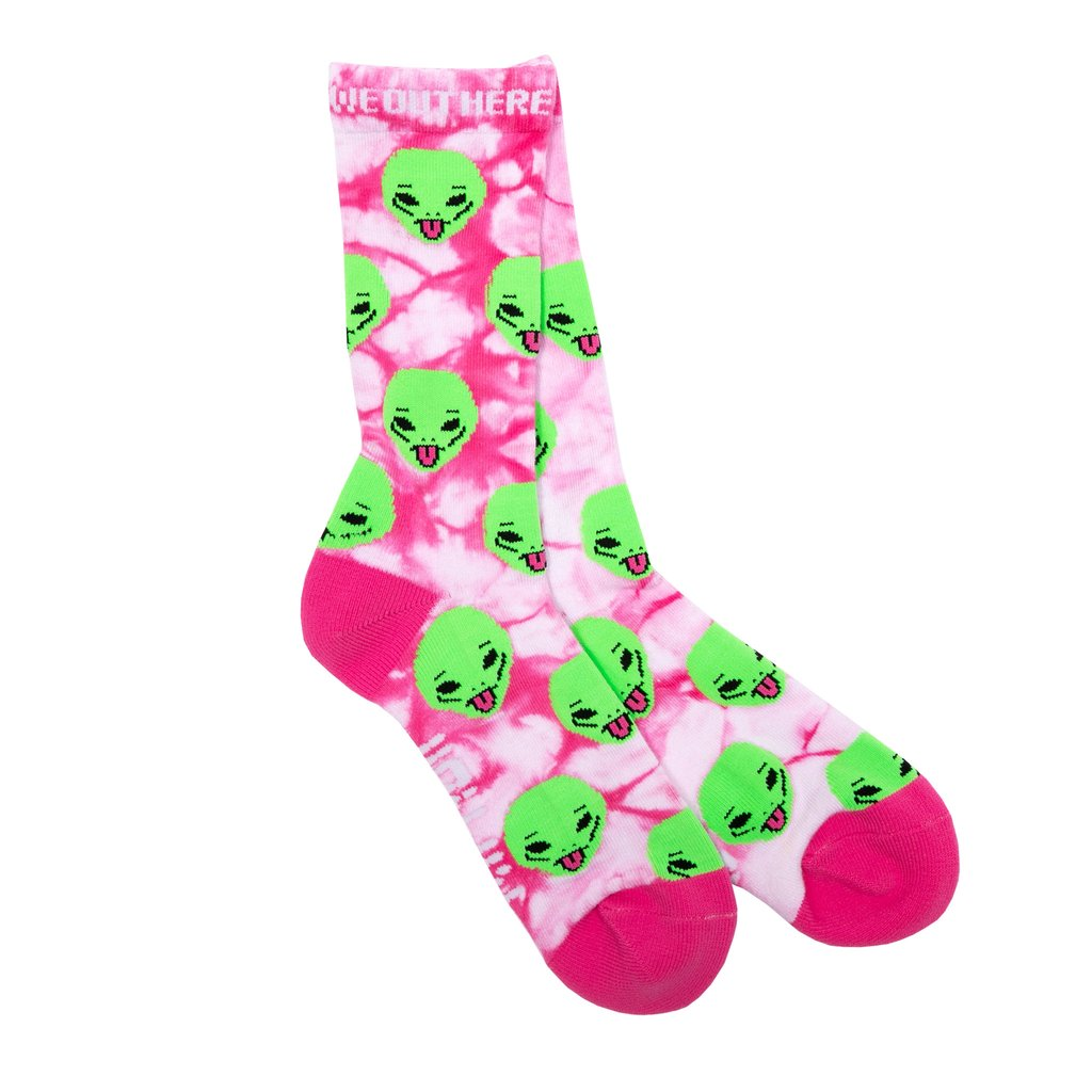 RIPNDIP ponožky We Out Here Socks - pink