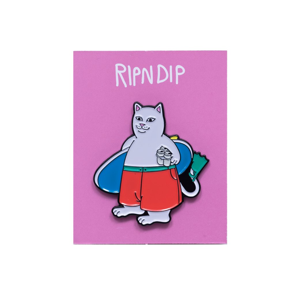 RIPNDIP odznak Surf Break Pin