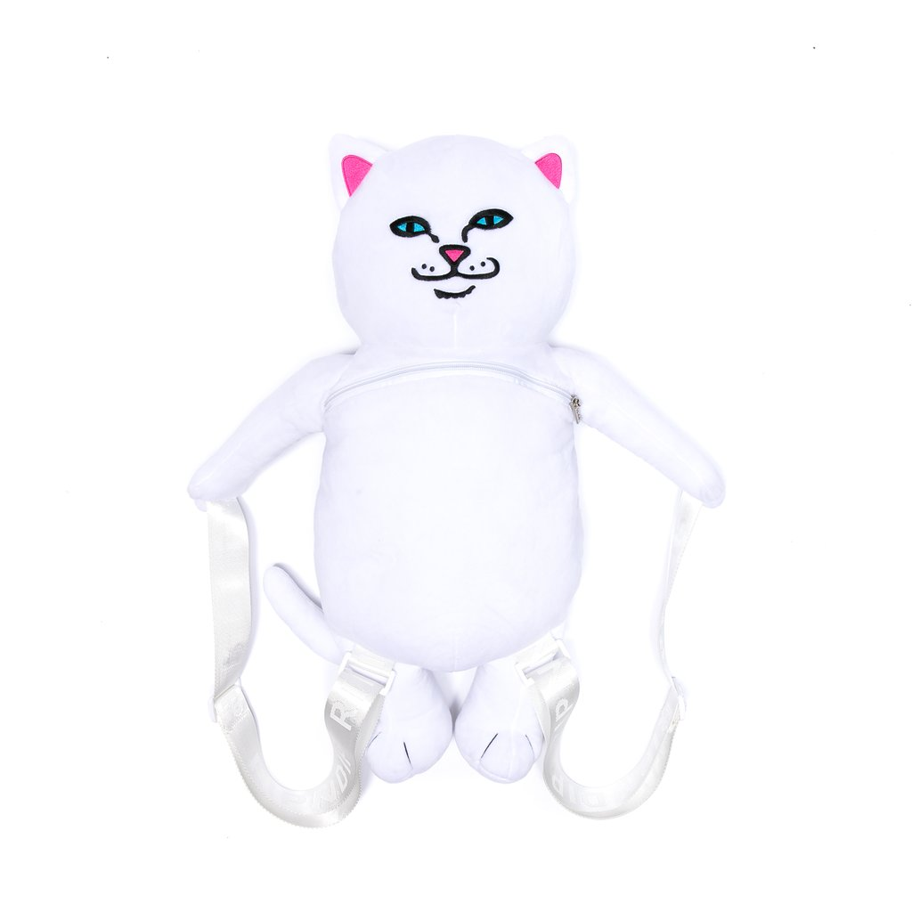 RIPNDIP batoh Plush Back Packs Nermal - White