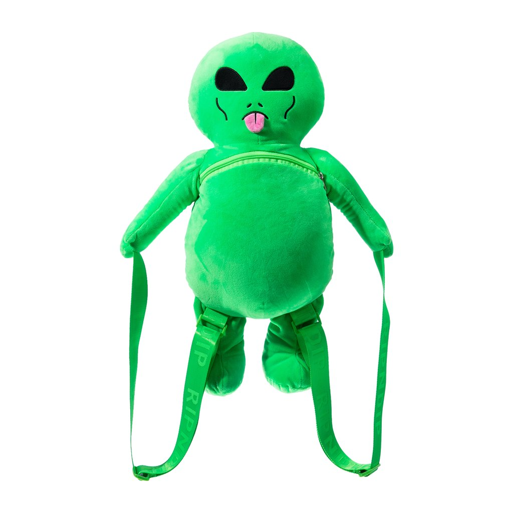 RIPNDIP batoh Plush Back Packs Alien - Green