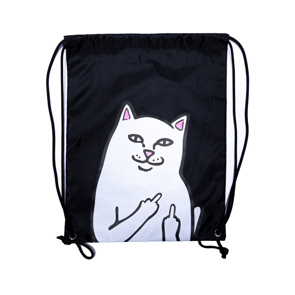 RIPNDIP batoh Lord Nermal Drawstring Bag - Black