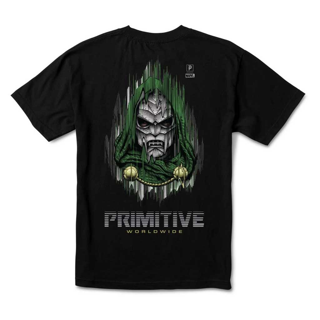 Primitive tričko Doom tee - Black