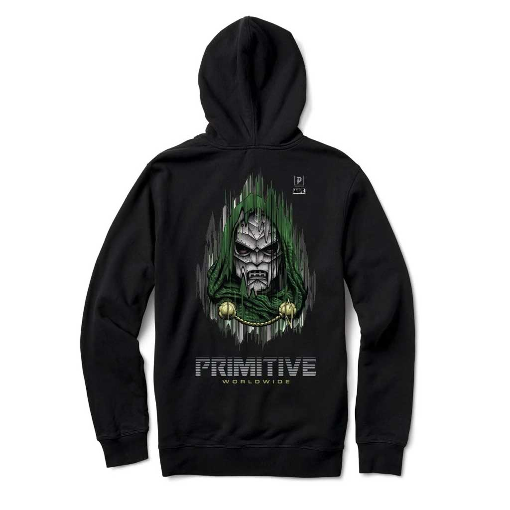 Primitive mikina Doom hood - Black