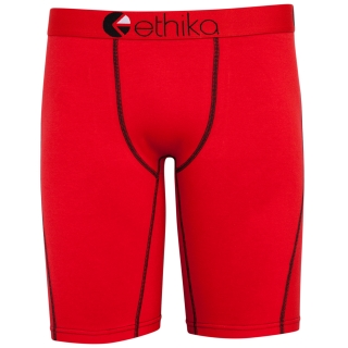 Ethika Contrast RED-Red